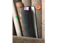 Black Saxony Whipped Carpet Rug on Sale, 119 x 200cm
