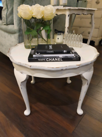 Beautiful vintage Shabby chic( laura Ashley style) coffee table