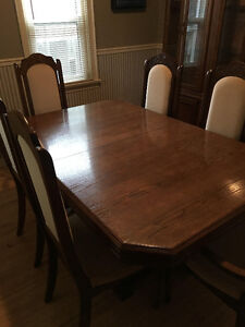 Dining Room Table & 6 Chairs for Sale - $300 obo
