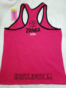 Zumba Kids Instructor shirt pink XXL