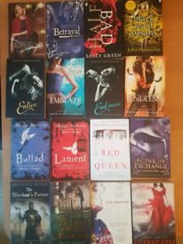 Job lot of teenage fiction books x38 books
