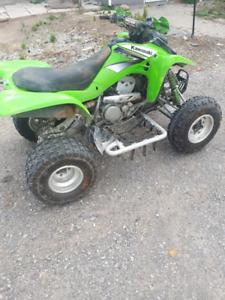 2004 Kfx 400 ATV 5 speed Reverse Elec start. Ready to ride