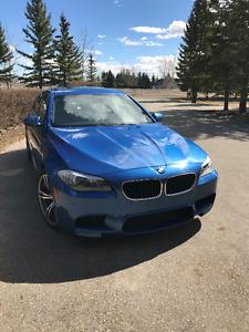 2012 BMW M5 Executive Sedan - Monte Carlo Blue Metallic