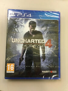 Selling: Uncharted 4 UNOPENED for PS4