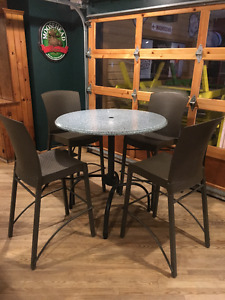 """Commercial 36"""" Round High-Top Table"""