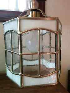 Stained Glass Pendant Light Kitchener / Waterloo Kitchener Area image 1