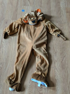 Toddler Halloween Lion Costume (Size 3-4T)
