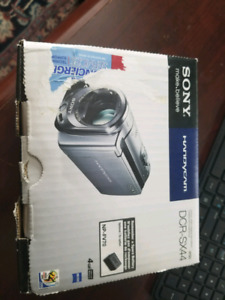 New never used Sony handycam DCR sx44 video recorder