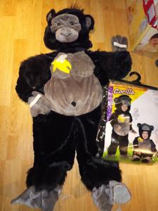 Superbe costume de Gorille pour enfants 2-4 ans