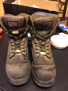 Used steel toe workboots