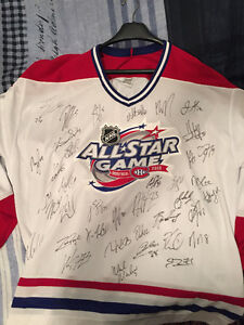 Jersey Autographed by the best NHL'ers Crosby Ovechkin Price