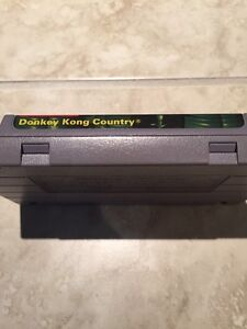 Donkey Kong Country and instructions manual snes Kitchener / Waterloo Kitchener Area image 3