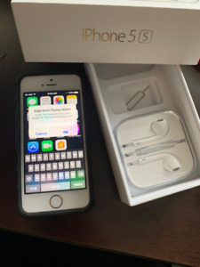 Rarely used IPHONE 5S