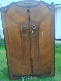 Lovely solid wood wardrobe