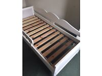 IKEA HENSVIK Toddler Bed with safety rail GOOD CONDITION