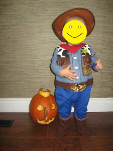 Cowboy Halloween costume 6-18 months - like new