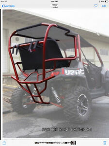 Rzr 800 cage extension with seat +\-rzr4