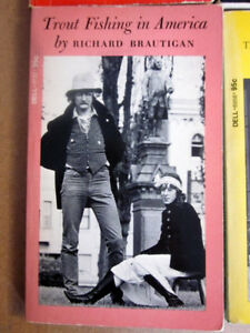 Richard Brautigan,vintage pocket books; Trout Fishing in America