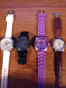Women's Watches - Fossil, Guess, and Bulova