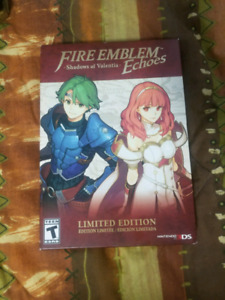 Fire Emblem Echoes Shadow of Valentia Special Edition