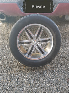 Rims and Rubber x4 REDUCED!!