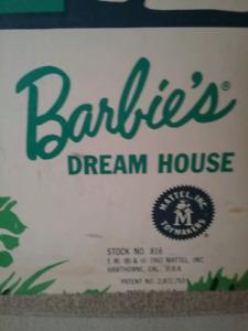 1962 Barbie Dream House