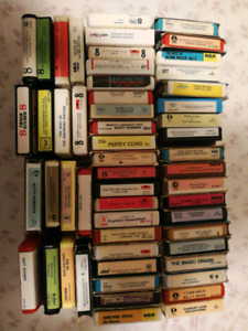 8 Track lot (55 Eight Tracks)
