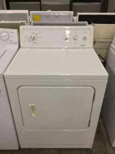 Kenmore White Front Load Dryer 27""