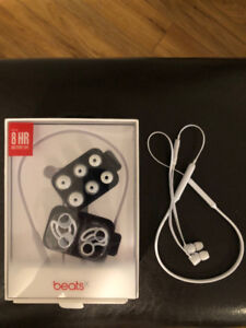 Beats by Dr. Dre BeatsX Bluetooth Headphones (white) - $75