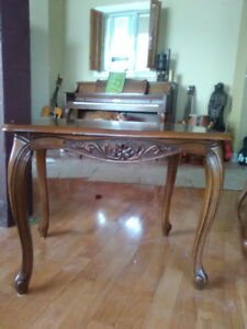 2 French Provincial Side Tables