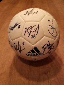 MONTREAL IMPACT TEAM SIGNED 2016-17 AUTOGRAPHED BALL SOCCER MLS