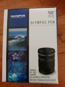 Olympus 40-150mm lens (Brand new never been used)