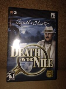 Agatha Christie Death on the Nile and crime stories PC game