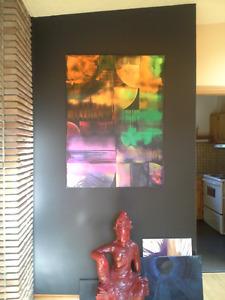 toile art abstrait - oeuvre original