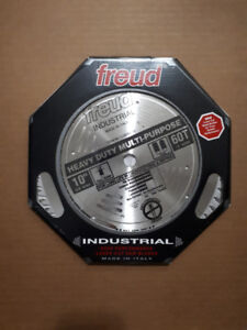 "FREUD 10""  Saw Blade 60T ""INDUSTRIAL"" level - BRAND NEW ! !"