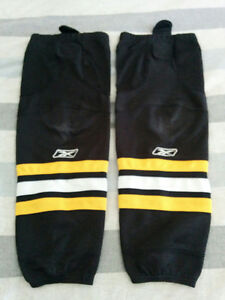 Bas de hockey Boston Bruins de Reebok pour enfant