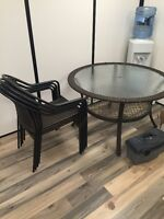 Patio Set (Table w/ 4 Chairs)