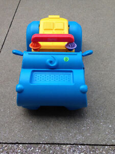 Fisher Price ride/walk hippo