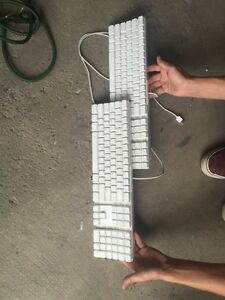 Apple keyboard works great for gaming or business