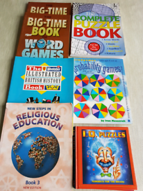 Activity and reading books
