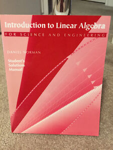 Introduction to Linear Algebra for Science and Engineering Windsor Region Ontario image 2