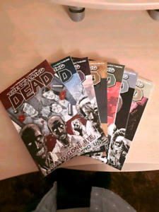 The Walking Dead Graphic Novels 1-7