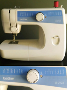 Brother Sewing Machine LS2125. Loc: Oakville. Delivery@cost.