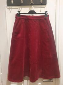 Uniqlo corduroy skirt