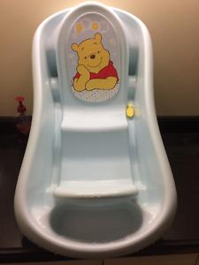 Winnie the Pooh Baby Bath Tub - EUC