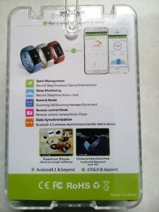 Fitbit E-Band monitor,sport,sleep,calls,camera remote,music play