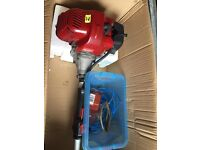 Heckler petrol Strimmer chainsaw hedge trimmer multi tool