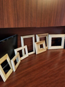 Solid maple/poplar/pine picture frames