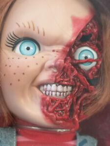Child's Play 3 Talking Pizza Face Chucky by Mezco Toyz 2018