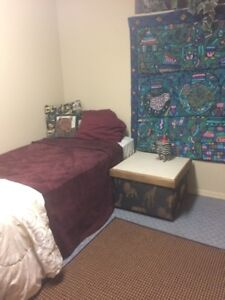 Furnished Bedroom in shared houes $500 inc. utilities Sept 1st